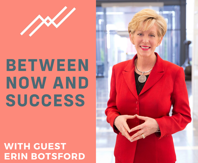 Between Now and Success Podcast | Erin Botsford Media Mentions